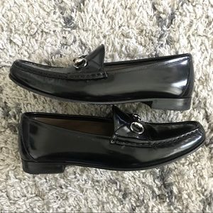 Gucci Shoes - Gucci Horsebit Patent Loafers